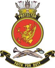 HMAS Protector, emblem