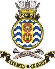 HMAS Quality, emblem