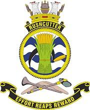 HMAS Rushcutter, emblem
