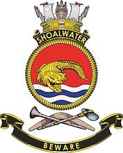 HMAS Shoalwater (M 81), emblem