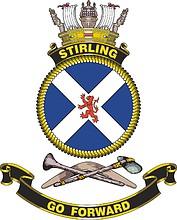HMAS Stirling, emblem