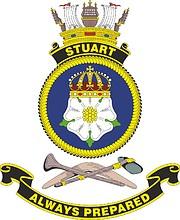HMAS Stuart, emblem