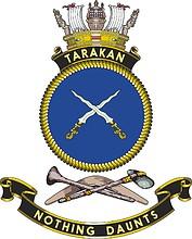 HMAS Tarakan, emblem