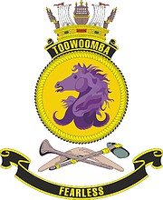 HMAS Toowoomba, emblem