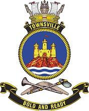 HMAS Townsville (FCPB 205), emblem