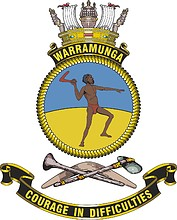 HMAS Warramunga (FFH-152), emblem