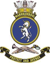 HMAS Warrnambool (FCPB-204), emblem