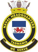 Australian Naval Headquarters Tasmania (NHQ-TAS), emblem