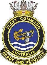 Royal Australian Navy Fleet Command, emblem