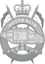 Royal Australian Armoured Corps (RAAC), badge (#2)