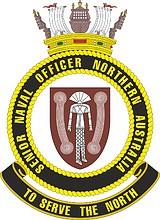 Senior Naval Officer Northern Australia (SNONA), emblem