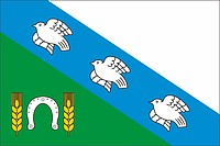 Konyshyovsky rayon (Kursk oblast), flag (2018)