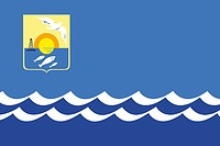 Ola (Kreis im Oblast Magadan), Flagge (2005)