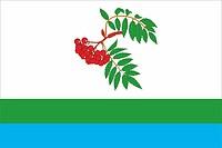 Ryabinino (Perm krai), flag