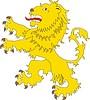 heraldischer Löwe