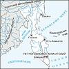 Karte von Kamtschatka Krai
