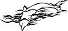 Delphin Flamme