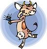 Vector clipart: cow
