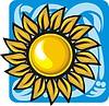 Goldanhänger - Sonne