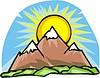 Vector clipart: mountains