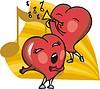 tanzende Herzen