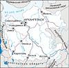 Karte von Archangelsk Oblast