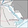 Karte von Oblast Astrachan