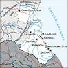 Karte von Dagestan