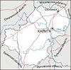 Karte von Oblast Kaluga