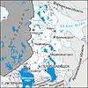 Karte von Karelien