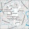 Karte von Kemerowo