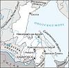 Karte von Oblast Chabarowsk