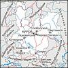 Karte von Kirov Oblast