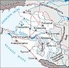 Karte von Region Krasnodar