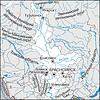 Karte von Region Krasnojarsk