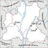 Karte von Lipezk Oblast