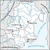 Karte von Magadan Oblast