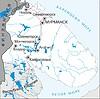 Karte von Murmansk