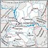 Karte von Oblast Nischni Nowgorod