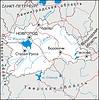 Karte von Novgorod Oblast
