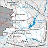 Karte von Oblast Rostow