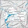 Karte von Tatarstan