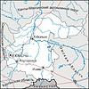 Karte von Oblast Tyumen