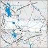 Karte von Oblast Vologda