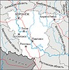 Karte von Oblast Woronesch
