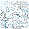 Karte von Jamal-Nenetsia