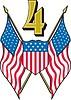 Amerikanisches Clipart