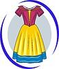 Kleid für Prinzessin