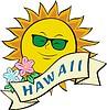 Sonne Hawaiis