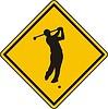 Golf Zeichen